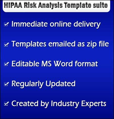 hipaa security risk analysis template. Black Bedroom Furniture Sets. Home Design Ideas