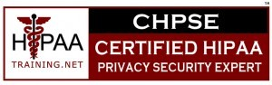 Certified HIPAA Privacy Security Expert Logo
