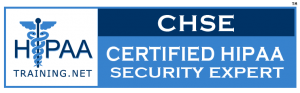 Certified HIPAA Security Expert Logo