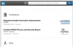 HIPAA Logo Certificate