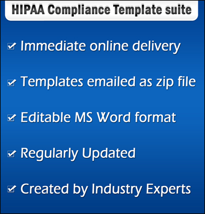 Hipaa compliance forms and templates hipaa compliance template tools yelopaper Gallery