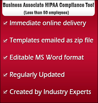Business associate hipaa compliance tool kit forms policies for Hipaa training certificate template